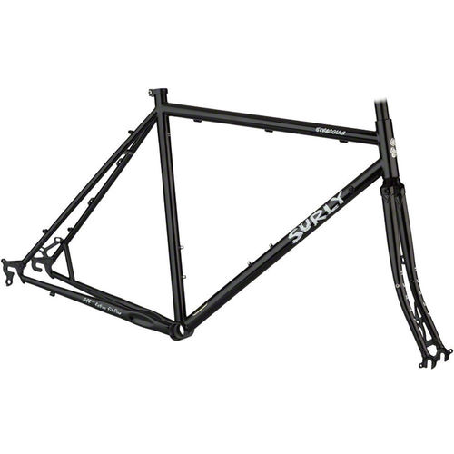 Surly Straggler Cyclocross/Touring Frameset Gloss Black 2019
