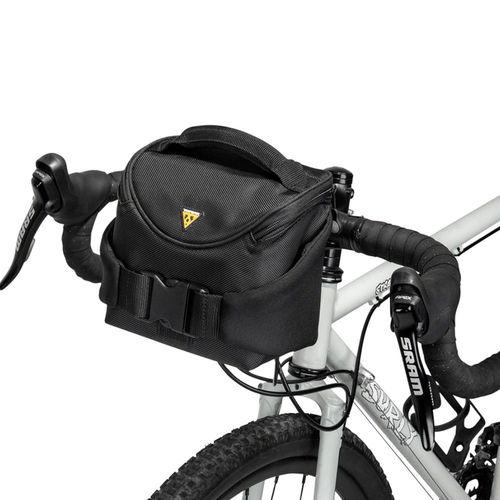 Black NEW XLC BA-S42 Deluxe Bicycle Handlebar Bag 7L QR Quick Release Mount