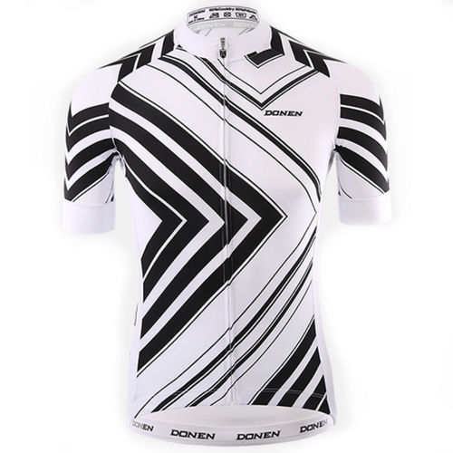 Bike 3Sixty Short Sleeve Cycling Jersey White/Black