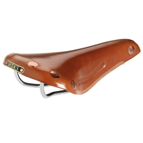 Brooks Team Pro Saddle Titianium Rails Honey Limited Edition