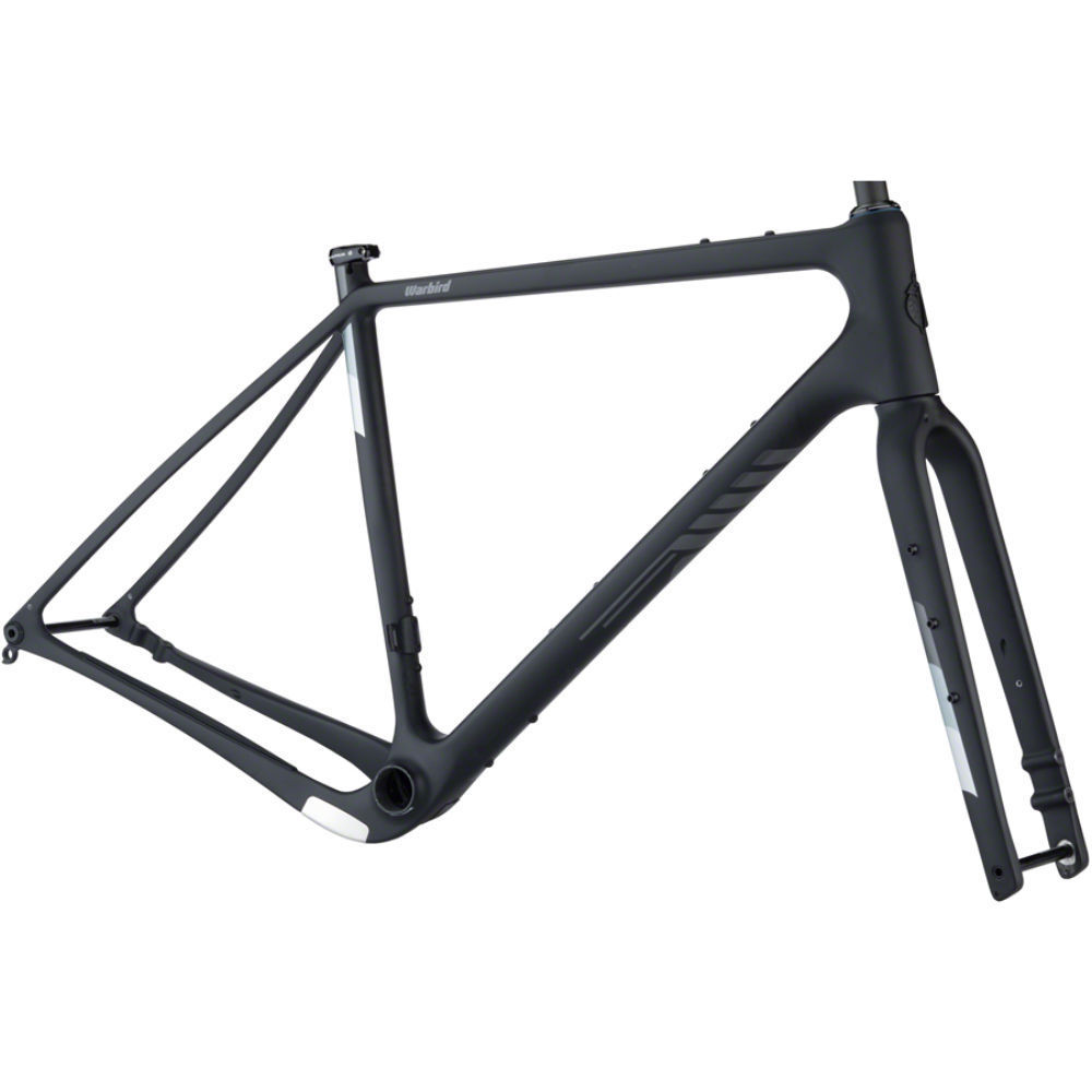 Salsa Warbird Carbon Frameset Black 2021 - available for Special Order