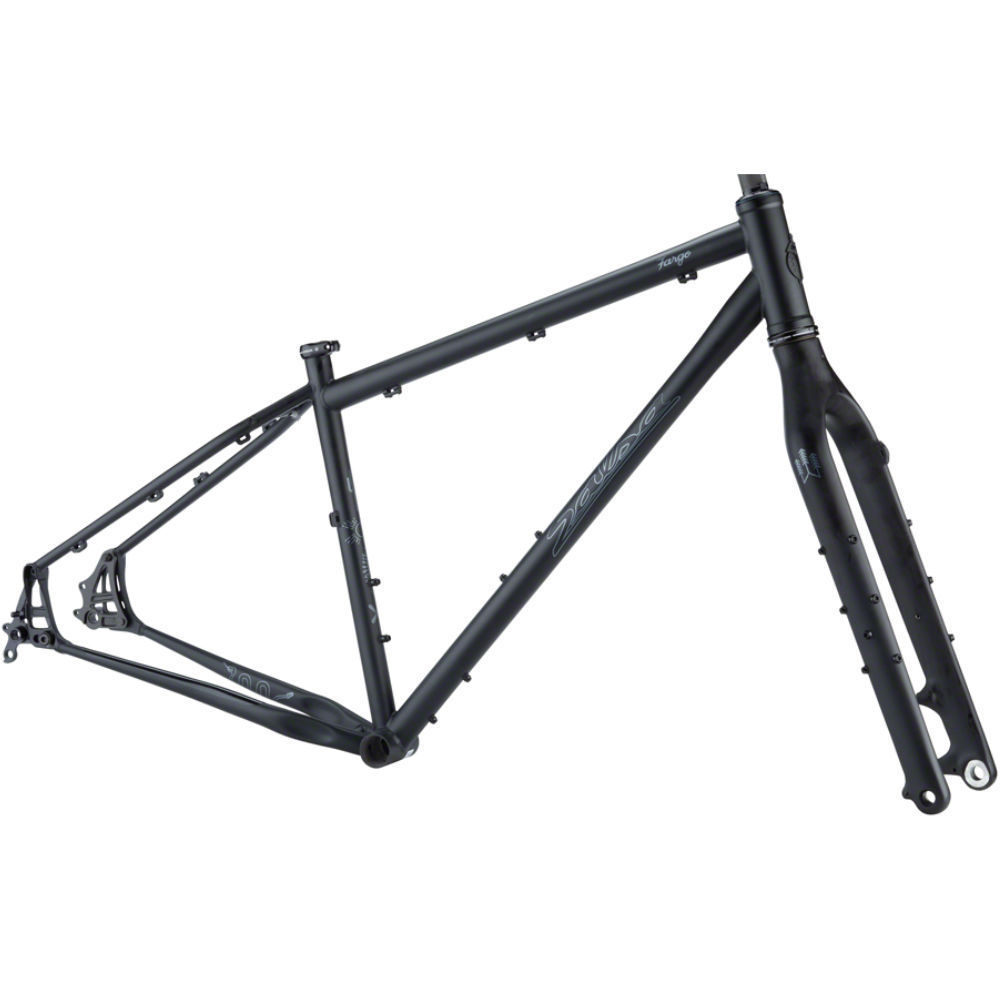 Salsa Fargo Frameset Black 2021 - available for Special Order