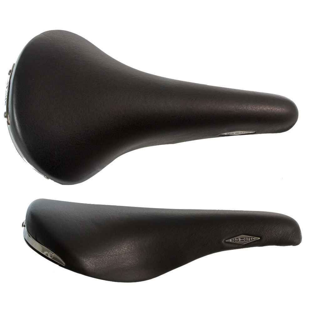 Selle San Marco Rolls Leather Saddle Titanium Black