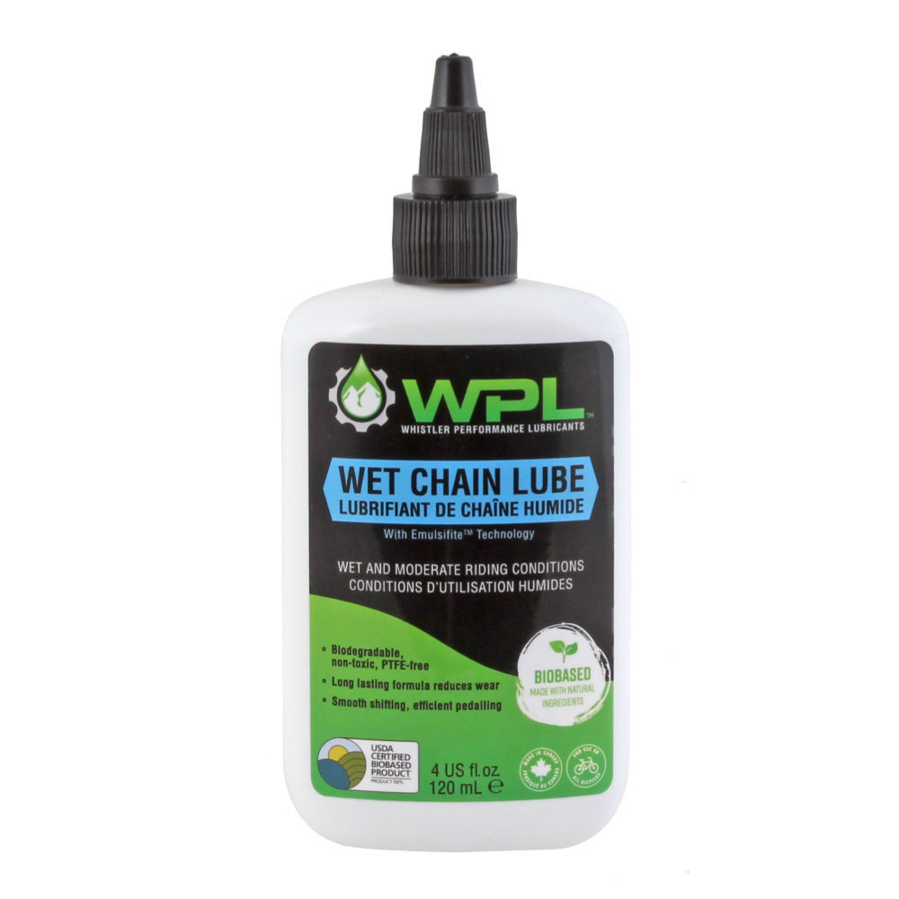 Whistler Performance (WPL) ChainBoost Wet Chain Lubricant 120ml