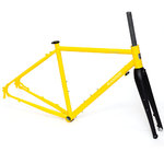 Blacksnow Dragon Gravel Frameset Yellow/Black